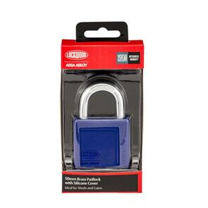 50 mm Brass Padlock with Silicone Cover