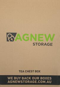 Carton - Tea Chest Box 435x405x595mm