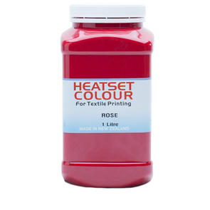 Heatset Water Based Textile Ink Rose