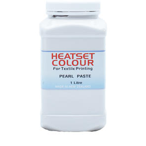 Heatset Water Based Textile Ink Pearl Paste