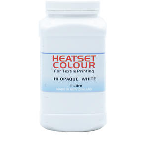 Heatset Water Based Textile Ink Hi Opaque White