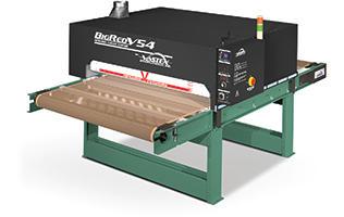 "Vastex BigRed V54 Infrared Conveyor Dryers 3Phase, 3x 7,200w heaters. 54"" Belt x 8.75' Long (137 cm x 2.7 m)"