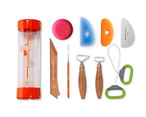 Xiem Tools Clay Essential Tool Kit (14 pcs)