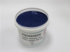 Aquasheen Ink Bright Blue