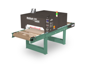 "Vastex BigRed V30 Infrared Conveyor Dryers 3x 3,600w heaters. 30"" Belt x 8.75' long. (76 cm x 2.7m)"