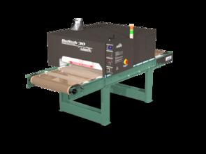 "Vastex BigRed V30 Infrared Conveyor Dryers 4x 3,600w heaters. 30"" Belt x 8.75' Long (76 cm x 2.7m)"