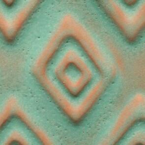 Amaco Artist Choice A-22 Aztec Turquoise Lowfire Brushable Glaze