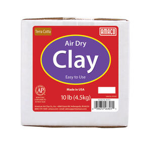 Amaco Air Dry Clay Terracotta