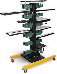 Vastex VP-Cruiser Pallet Rack (add pallet mounts separately)