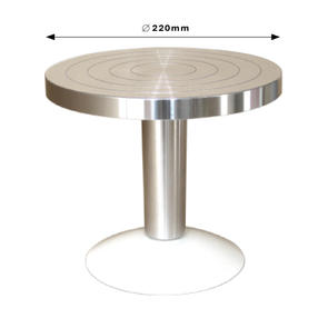 Banding Wheel Aluminum 220x100mm