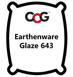 CCG Bright Red Glaze 643