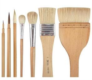 Brush Set for Slip & Glaze