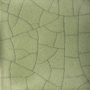 Mayco Classic Crackle Lowfire Brushable Glaze CC107 Green Tea