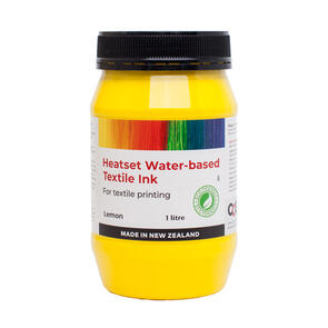 Heatset Water Based Textile Ink Lemon
