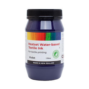 Heatset Water Based Textile Ink Violet