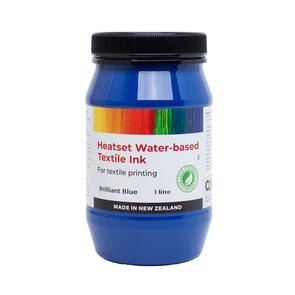 Heatset Water Based Textile Ink Brilliant Blue