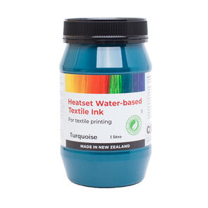 Heatset Water Based Textile Ink Turquoise