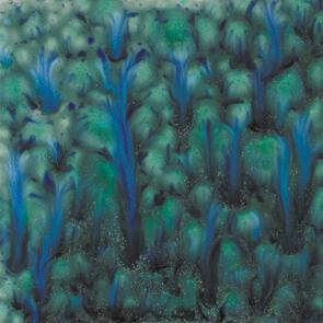 Mayco Jungle Gems Crystal Lowfire Brushable Glaze CG-962 Blue Azure