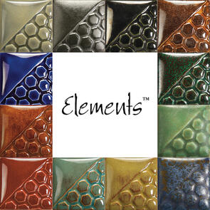 Mayco Elements Low & Midfire Glaze Kit (12x 118ml Colours)