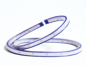 "Xiem Tools Flexible Ruler 24"" (61cm) Long"