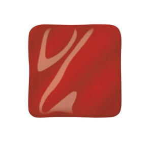 Amaco Highfire Cone 5 Midfire Brushable Glaze HF-165 Scarlet Red