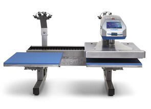 Stahls Dual Air Fusion IQ Heat Press with Laser Alignment