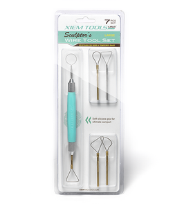 Xiem Tools Sculptor's Wire Tool Set Large (Set of 7)