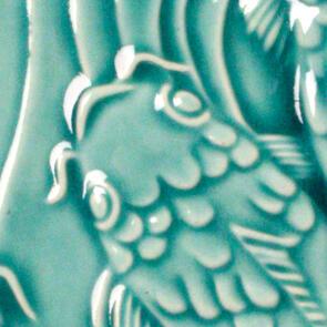 Amaco Gloss Lowfire Brushable Glaze LG-26 Turquoise