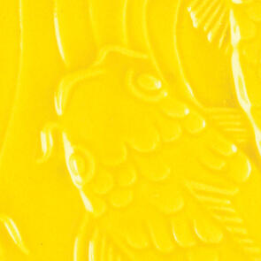 Amaco Gloss Lowfire Brushable Glaze LG-63 Brilliant Yellow
