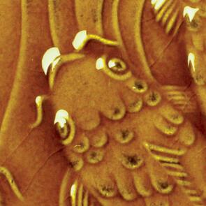 Amaco Gloss Lowfire Brushable Glaze LG-65 Amber