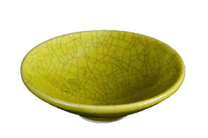 Abbots Olive Crackle Midfire Brushable Glaze