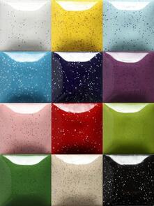Mayco Speckled Stroke & Coat Low & Midfire Glaze Kit (12x59ml Colours)