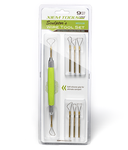 Xiem Tools Sculptor's Wire Tool Set Medium (Set of 9)