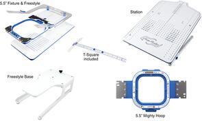 """HoopMaster Mighty Hoop 5.5"""" Starter Kit for Melco"""