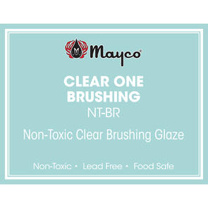Mayco Lowfire Brushable Glaze NT-BR Clear