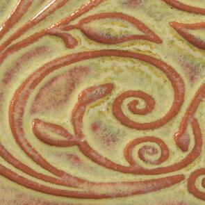 Amaco Opalescent O-12 Tawny Lowfire Brushable Glaze