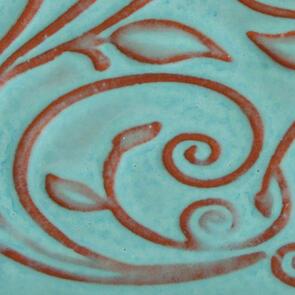 Amaco Opalescent O-20 Bluebell Lowfire Brushable Glaze