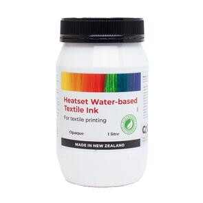 Heatset Water Based Textile Ink Opaque Print Paste