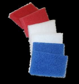 Franmar Biggie Blue Hard Scrub Pads