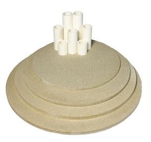 Nabertherm Top140 Furniture Kit for Toploading Round Kiln