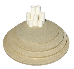 Nabertherm Top130 Furniture Kit for Toploading Round Kiln