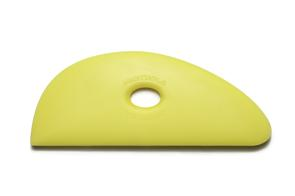 Mudtools Polymer Ribs Yellow (Soft) Half Teardrop 3