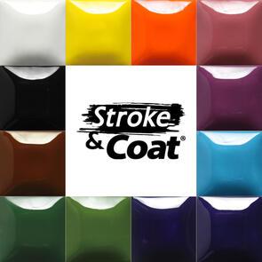 Mayco Stroke & Coat Low & Midfire Glaze Kit 1