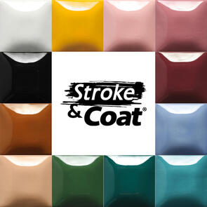Mayco Stroke & Coat Low & Midfire Glaze Kit 2