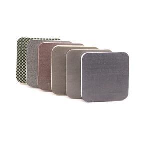 DiamondCore Flexible Diamond Pads Rounded Corners Set of 6