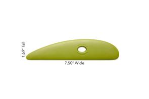 Mudtools Platter Rib Small Green (Firm)