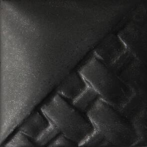 Mayco Stoneware Midfire Brushable Glaze SW140 Black Matte