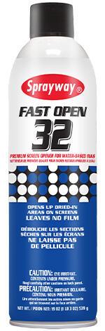 Sprayway 32 Fast Open Screen Opener (DG Class 2.1 UN1950)