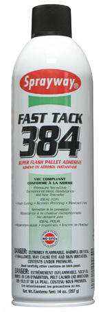 Sprayway Fast Tack 84 Super Flash Spray Adhesive (DG Class 2.1 UN1950)