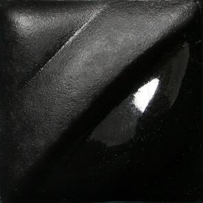 Amaco Velvet Underglaze V-361 Jet Black